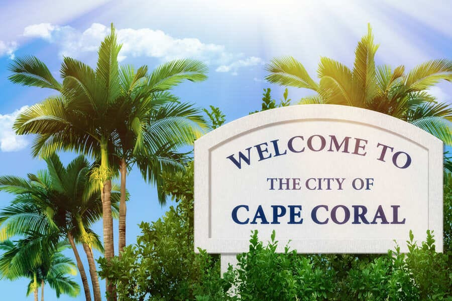 Cape Coral Florida Welcome to the City