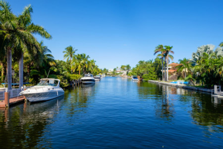Cape Coral Florida Intracoastal Waterway