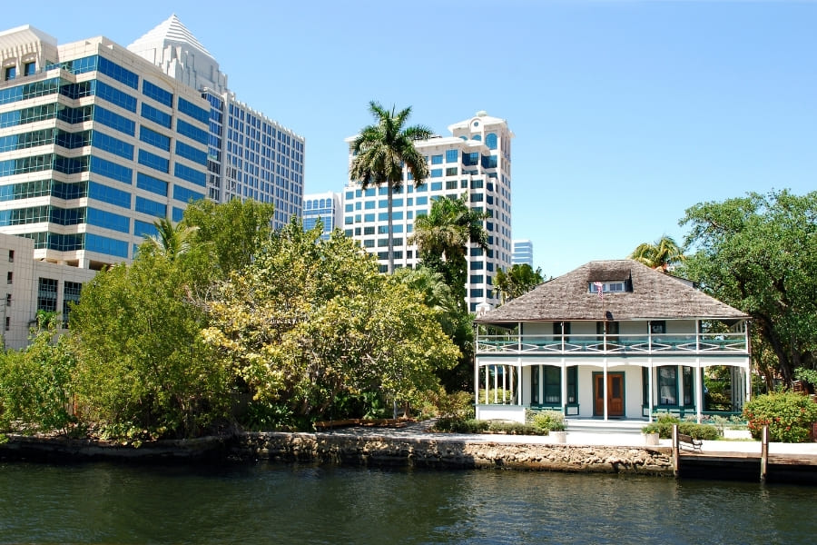Stranahan House in Fort Lauderdale Florida
