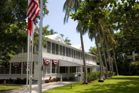 Truman little white House in Key West Florida