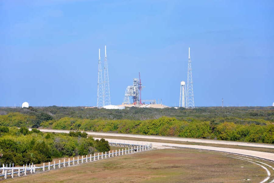 Kennedy Space Center in Cape Canaveral Florida Airbase