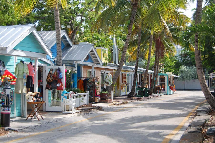 Key West Florida Shopping Street