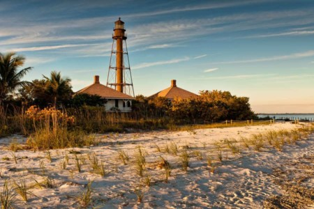 Lighthouse Beach at Sanibel Island Florida