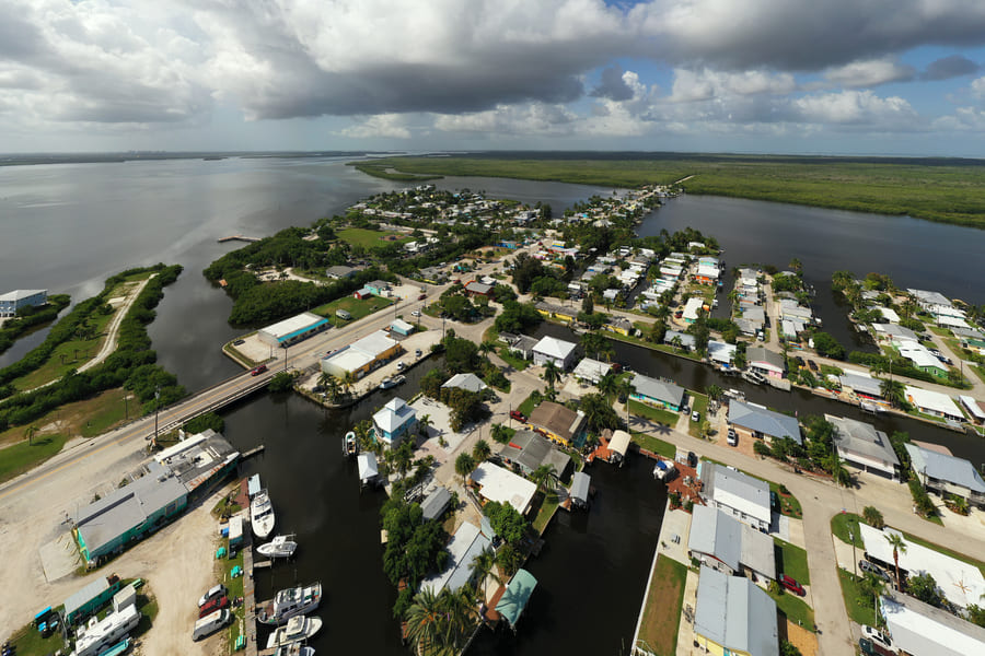 Pine Island Florida View to Matlacha